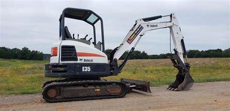 bobcat  compact excavator  sale  hours chatham va