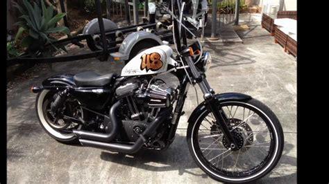 Harley Davidson Sportster 48 Bobber Custom