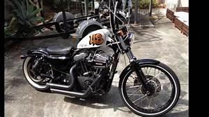 Bobber Harley Davidson : harley davidson sportster 48 bobber custom youtube ~ Medecine-chirurgie-esthetiques.com Avis de Voitures