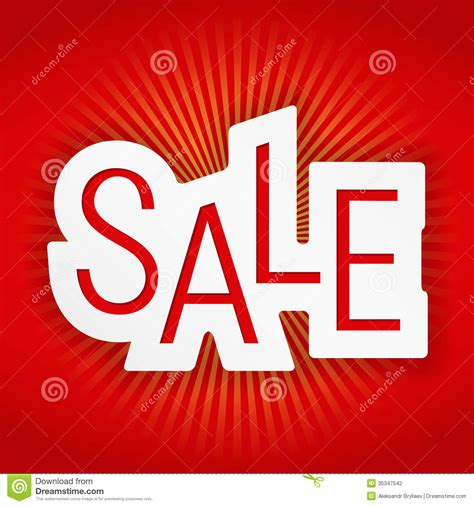 Sale Banner Stock Photography - Image: 35347542