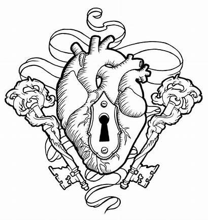 Heart Keys Lock Koyasan Key Drawing Deviantart