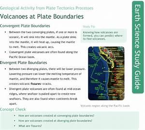 Volcanoes At Plate Boundaries