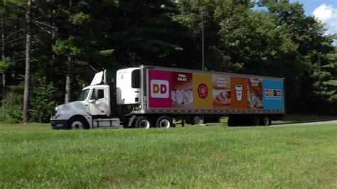 Dunkin' Donuts Truck Advertising - EPIC Worldwide - YouTube
