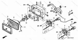 Honda Atv 1996 Oem Parts Diagram For Headlight