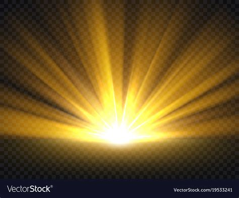 Bright Golden by Abstract Golden Bright Light Gold Shine Burst Vector Image