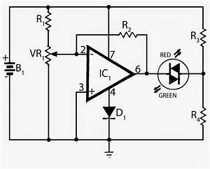 electronics projects battery voltage monitor With say a battery is supplying 12 volts to a circuit