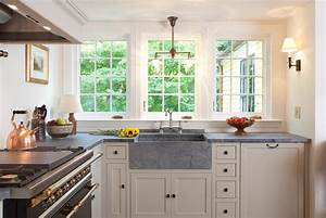 soapstone countertops cost Kitchen Traditional with aqua