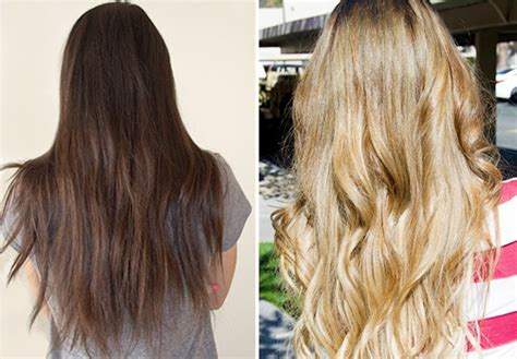 bleaching colored hair ways to lighten your hair from brown hair dye md