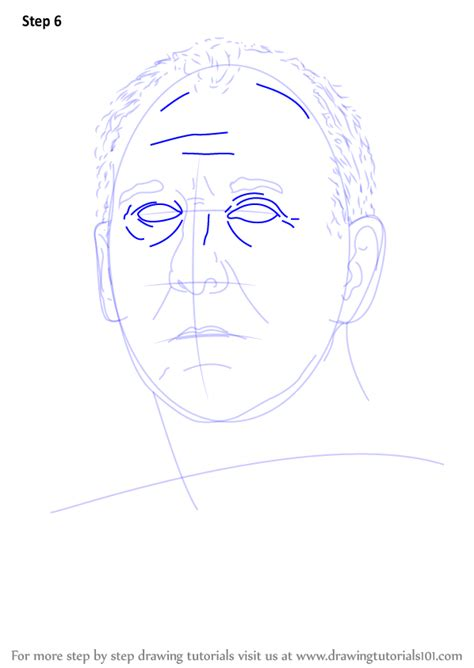 learn   draw gregg popovich basketball players step