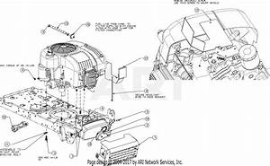 Mtd 13w277ss031  Lt 4200   2016  Parts Diagram For Engine