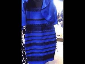 robe blanche ou bleu youtube With robe bleu et noir illusion