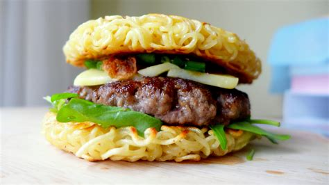 cuisine snack the food craze ramen burger siew cooks