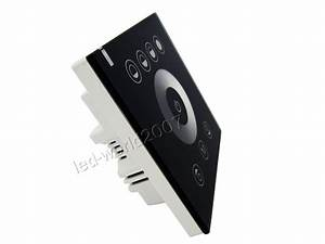 Led Touch Dimmer : 2 channel touch panel led dimmer controller wall mounted switch dc 12v 24v ebay ~ Frokenaadalensverden.com Haus und Dekorationen