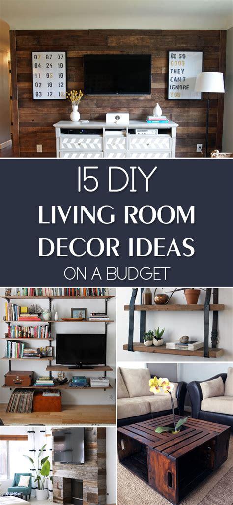 diy livingroom decor 15 diy living room decor ideas on a budget