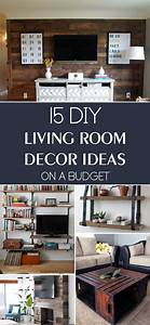 15 diy living room decor ideas on a budget for Diy decorating for living rooms
