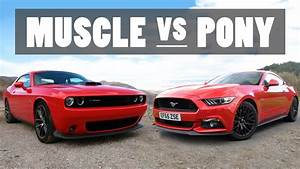 The Differences Between Muscle And Pony Cars  U2013 Sir Pierre