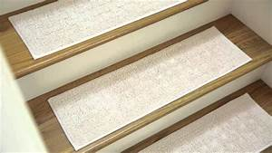 Stair treads carpet amalfi custom sisal stair treads for Carpet stair treads