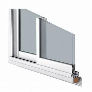 Baie coulissante aluminium aluslide for Porte de garage coulissante jumelé avec devis porte blindée appartement