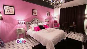 la chambre de sandy video sur decofr With modele de chambre peinte