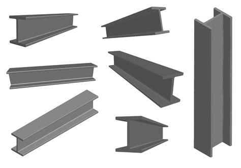 steel girder metal construction vector