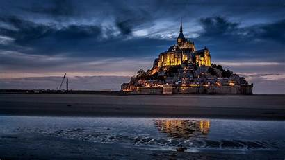 Mont Saint Michel Background Wallpapers