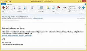 02 Online Rechnung : rechnungonline konto 3 von deutsche telekom ag ~ Themetempest.com Abrechnung