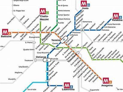 Metra Plan Linia Rzymie Metro Rzymu Nowa