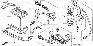 Honda Atv 2002 Oem Parts Diagram For Battery   U0026 39 02