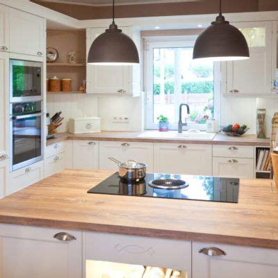 Moderne Landhauskueche Weiß Klassisch Holz Kueche