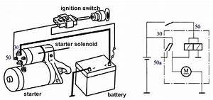 latest 12v starter solenoid wiring diagram 8 in starter With the key to switch the ignition and using a momentary switch to start