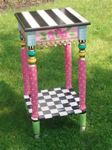 Painted Side Table Furniture