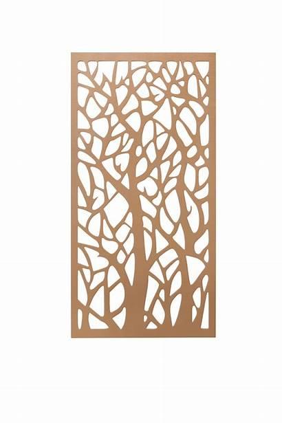 Tree Screen Wall Panels 3d Raw
