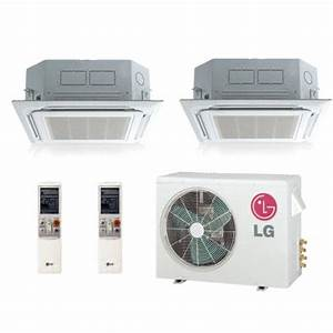 Replace Ceiling Recessed Split Cooling System Lmu18chv