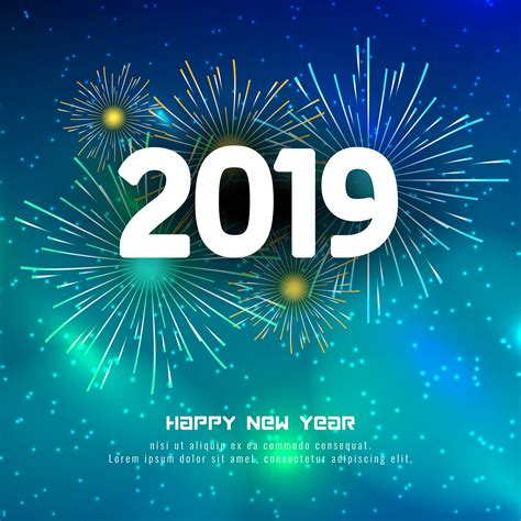 abstract happy  year  colorful background