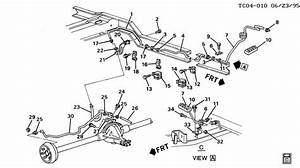 2000 Chevy Silverado Brake Line Routing Diagram