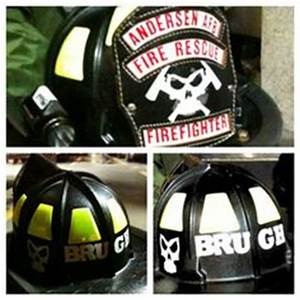 1000 images about firefighter decals and more on With reflective letters for fire gear