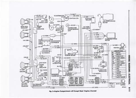Hemi Engine Wire Diagram by Wire Diagram For 67
