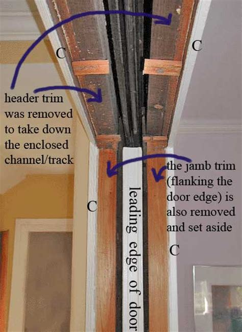 how to fix a pocket door pocket door anatomy and glossary defining terms and