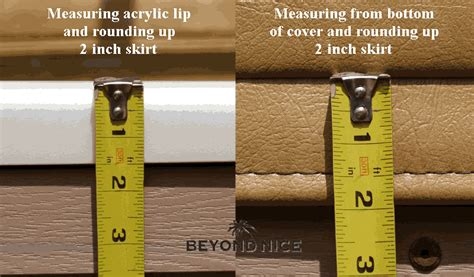 How To Measure For A Tub Cover by How To Measure For A New Tub Cover Skirt