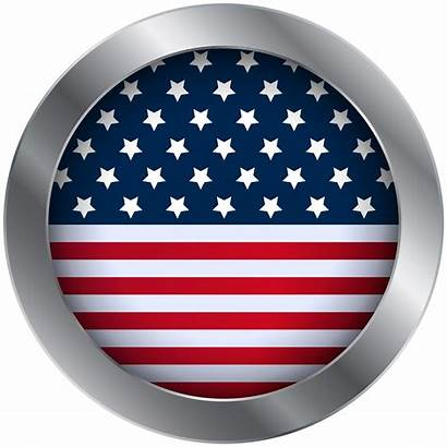 Flag American Clip Oval Clipart United States