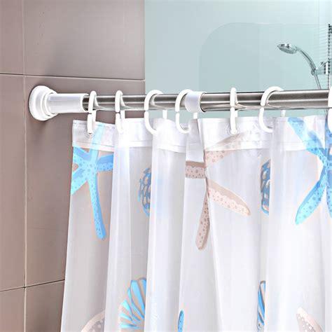 in shower curtain rod plastic shower curtain rod sleeve curtain menzilperde net