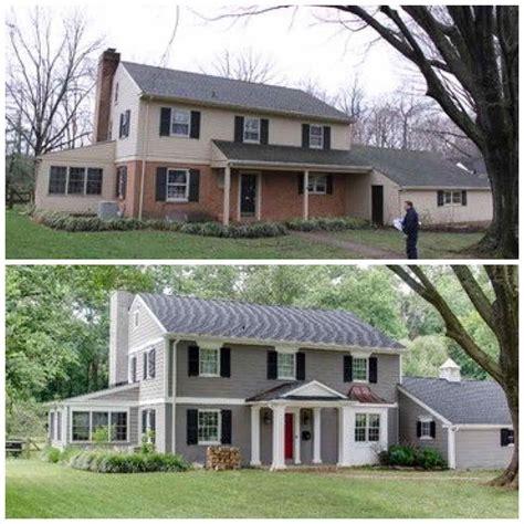 99 farmhouse renovation outside modern exterior