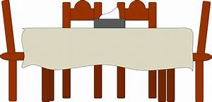 Dining Table | Free Images at Clker.com - vector clip art ...