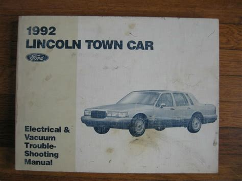 Lincoln Town Car Wiring Diagram Service Electrical