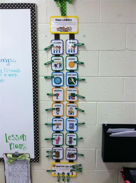 classroom jobs rotation  clothes pins includes  week