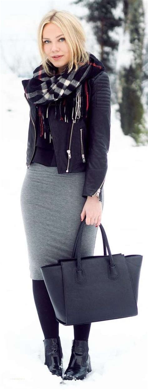 Winter work outfits skirts new 99 reasons why you really need a grey skirt - Creative Maxx Ideas