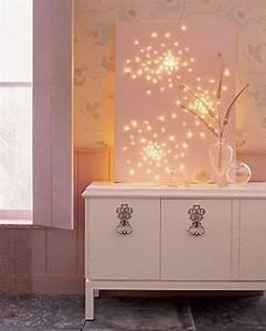 Deko Mit Lichterketten : 21 tolle und stimmungsvolle diy wohndeko ideen mit lichterketten walls pinterest deko ~ Eleganceandgraceweddings.com Haus und Dekorationen
