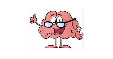 souris bureau personnage de dessin animé de cerveau renonçant carte