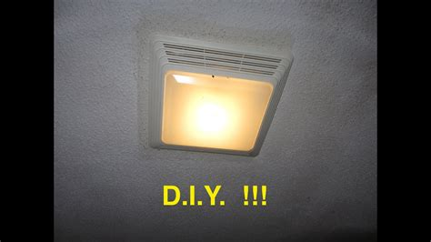 How To Install Bathroom Fan With Light by Installing A Bathroom Fan Light Ez