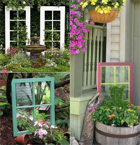 Gartendeko Hängend by 55 Id 233 Es D 233 Co Jardin R 233 Utiliser Les Vieilles Portes Et